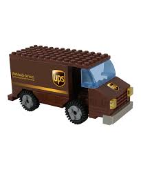 100 Ups Truck Toy Daron Worldwide UPS Construction Zulily