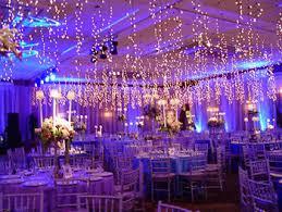Wedding Reception Lighting Royal Blue And Purple Ideas