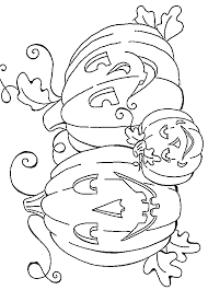 Print Off These Pumpkin Coloring Pages For Lots Of Halloween Fun