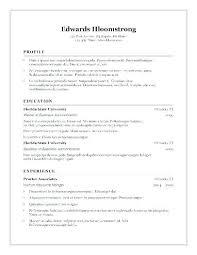 Free Curriculum Template Resume Format Open Office 8 Templates Regarding