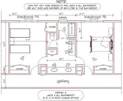 Bathroom Floor Plans Images by Jack And Jill Bathroom Designs What It Is Jack And Jill Bathroom