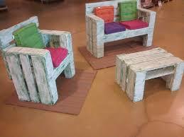 Diy Pallet Furniture Set For Kids