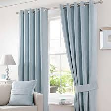 Teal Blackout Curtains Pencil Pleat by Duck Egg Blue Curtains For Soft Pastel Color Design Egovjournal