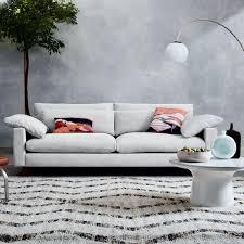 West Elm Paidge Sofa Sleeper by West Elm Harmony 2 5 Seater Eco Weave Sofa In Oyster Aptdeco