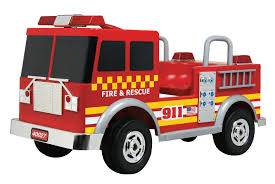 100 Fire Trucks Unlimited Amazoncom MotoTec Kalee Truck 12v Red Toys Games
