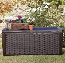 Suncast Resin Deck Box 50 Gallon by Keter Sumatra 135 Gallon Resin Deck Box U0026 Reviews Wayfair
