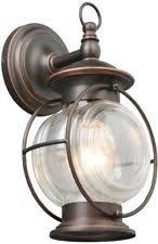 portfolio caliburn 12 25 in h rubbed bronze outdoor wall light