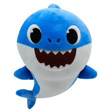 Baby Shark Singing Plush Daddy Shark 25cm The Entertainer