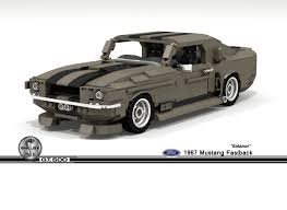 LEGO Ideas 1967 Ford Mustang Shelby GT500 Fastback Ealanor