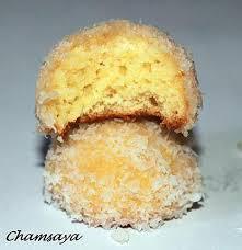recette de boules de neige ou gâteaux roulés à la confiture et