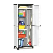 Tall Outdoor Storage Cabinet Plastic Storage Cabinet Tall Plastic