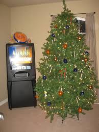 Hobby Lobby Pre Lit Led Christmas Trees by Orange And Blue Christmas Tree Christmas Lights Decoration