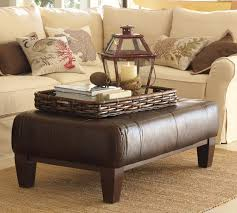 Coffee Table Ottoman Coffee Table With Brown Carpet And Grey Sofa