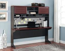 Office Space Desk Furniture Credenza To Be More Productive In Your Basement