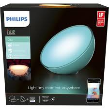 philips hue go portable dimmable led smart light table l
