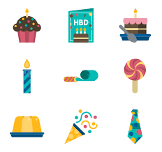 Birthday and party elements