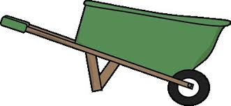 wheelbarrow clipart free