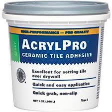 custom building products arl4000qt 1 quart acrylpro ceramic tile