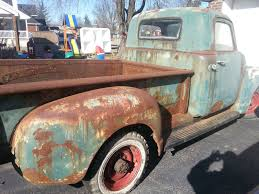 1951 Chevy Pickup 4 Speed Long Bed Rat Shop Truck Street Hot Rod, 48 ...