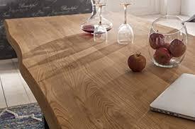 holzwerk esstisch wildeiche massivholztisch tisch baumkante eiche esszimmer neu 200x100 natur geölt