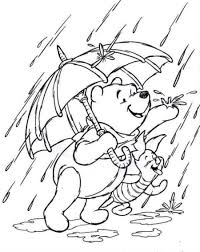 The Pooh Piglet Coloring Pages And