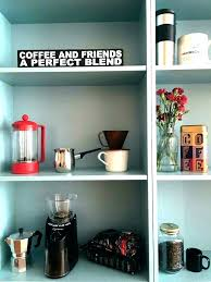 Small Coffee Bar Cabinet Office Furniture A