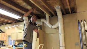 Dust Collector - Piping Up The Ductwork - YouTube Dust Collection Fewoodworking Woodshop Workshop 2nd Floor Of Garage Collector Piping Up The Ductwork Youtube 38 Best Images On Pinterest Carpentry 317 Woodworking Shop System Be The Pro My Ask Matt 7 Small For Wood Turning And Drilling 2 526 Ideas Plans