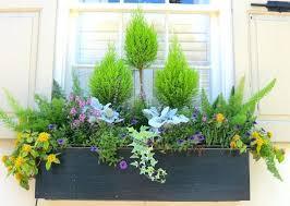 Vinyl Garden Box Decoration Designer Planter Boxes Rustic Window Flower Wrought Iron