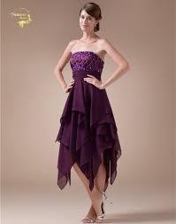 online get cheap short purple graduation dress aliexpress com