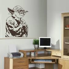 Wall Mural Decals Vinyl by Aliexpress Com Buy Large Yoda Star Wars Childrens Bedroom Wall