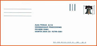 Beautiful Addressing A Letter with Po Box