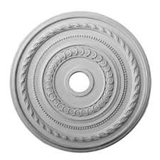 Two Piece Ceiling Medallions Cheap by Shop Ceiling Medallions U0026 Rings At Lowes Com