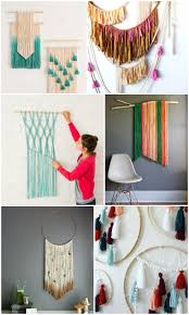 Easy Diy Decorating Ideas Image Gallery Photo Of Ebfabbeffbffddaffa Yarn Wall Hangings