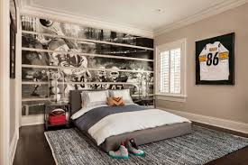 Teens Room Boys Teenage Bedroom Ideas Houzz With Sporty Masculine Cheap