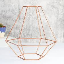 Punched Tin Lamp Shades Uk by Vintage Style Copper Wire Lamp Shade Lighting Accessories