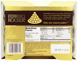 Ferrero Rocher Christmas Tree Box by Amazon Com Ferrero Rocher 12 Count Pack Of 6 Grocery