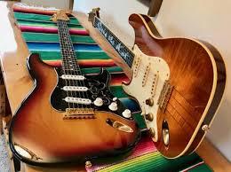 1998 SRV Hamiltone James Hamilton Left Handed Guitar 1 Of Only 1