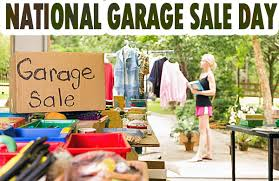 National Garage Sale Day August 8 Morse Real Estate Iowa and