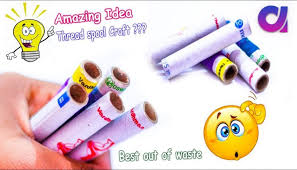 Best Out Waste Thread Spool Crafts Idea DIY Arts And