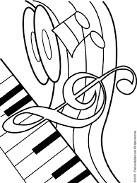 Vintage Music Coloring Pages Printable