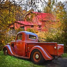 100 1930s Trucks Old Ford Pickup Truck At The Barn Photograph By Debra And Dave