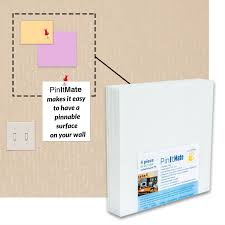 pinitmate tackable acoustical board tile fabricmate systems inc