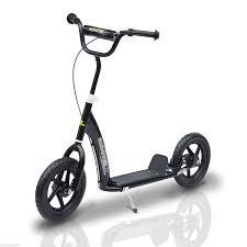 homcom kinderroller scooter tretroller cityroller 12 zoll