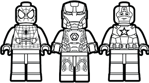 Lego Coloring Pages To Print Preschool For Fancy Draw Movie Batman