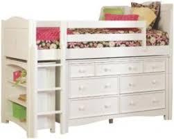 Low Loft Bed With Desk And Dresser by Loft Bed Dresser Foter