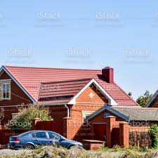 104 Homes Made Of Steel Detached House With A Roof Sheets Stock Photo Download Image Now Istock