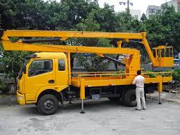 100 Truck Mounted Boom Lift Scissor Lift Mounted Boom Lift