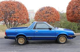 100 Subaru Pickup Trucks Remember The Brat With Seats In The Pickup Bed