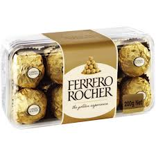 Ferrero Rocher Christmas Tree 150g by Ferrero Rocher Chocolates 16pk 200g Box Woolworths