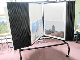 Used Art Picture Poster Display Rack Poster Bin 50 Panel Used